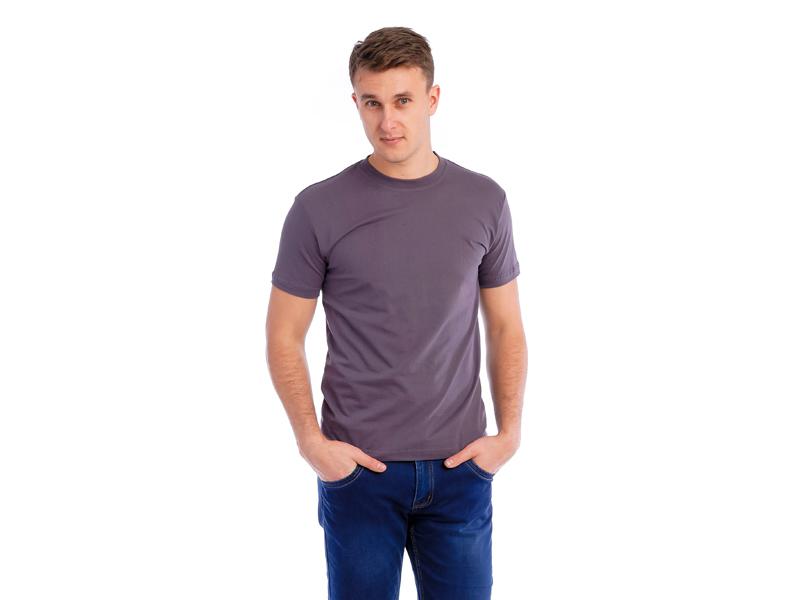 Vyriški marškinėliai (140g, Asfaltinė spalva)
