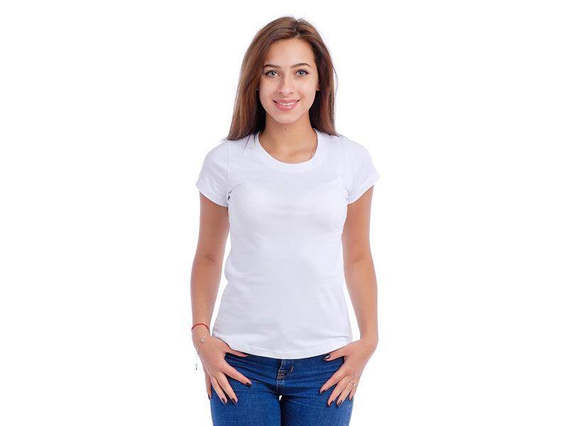 Moteriški marškinėliai  (Balta spalva)