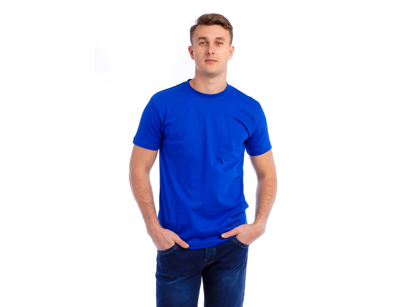 Vyriški marškinėliai (Mėlyna spalva)