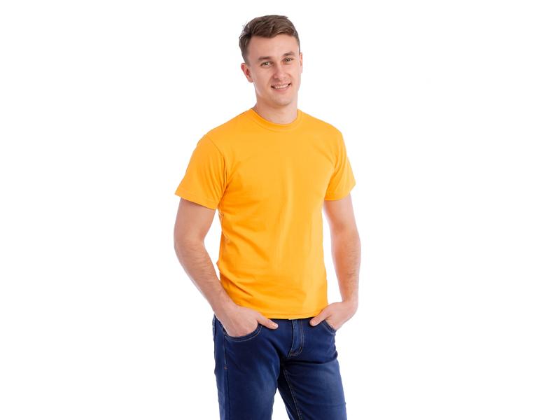 Vyriški marškinėliai (Geltona spalva)