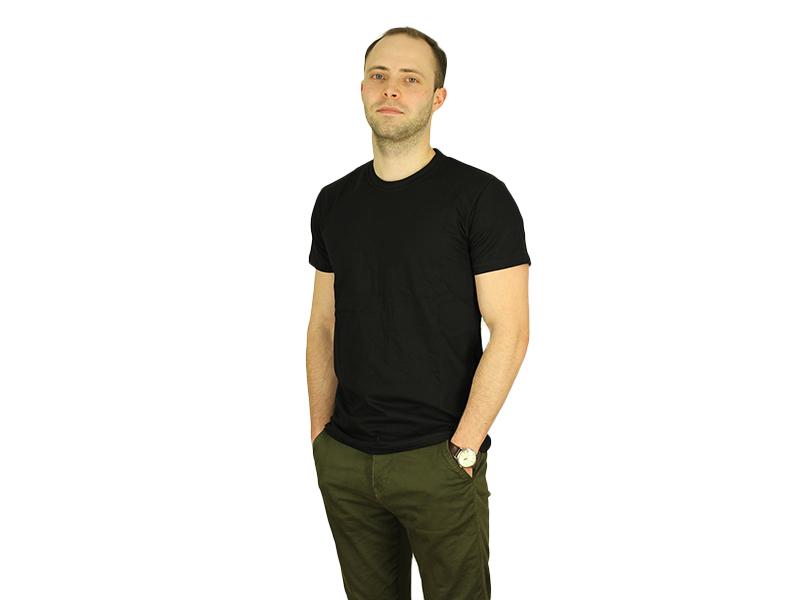 Vyriški marškinėliai (Juoda spalva)