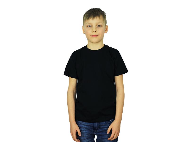 Vaikiški marškinėliai (Juoda spalva)