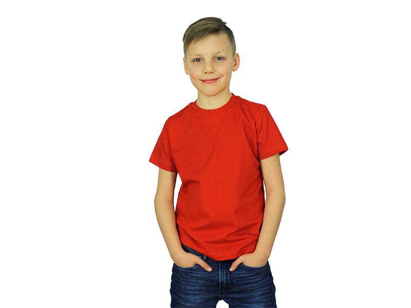 Vaikiški marškinėliai (Raudona spalva)