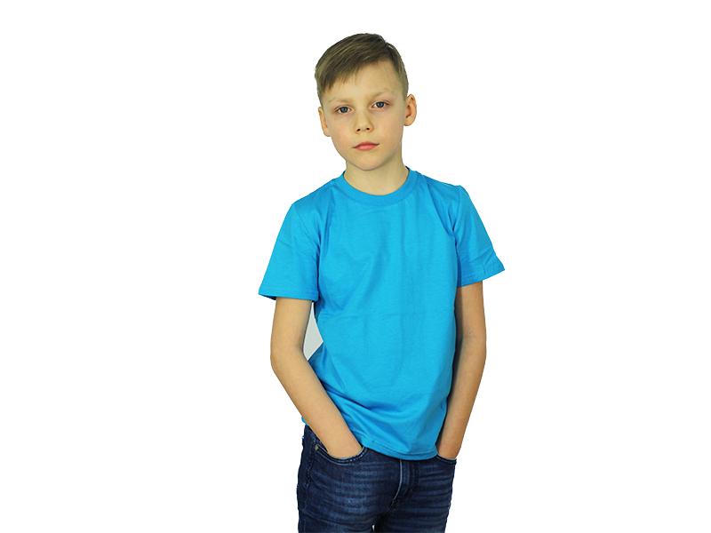 Vaikiški marškinėliai (Žydra spalva)