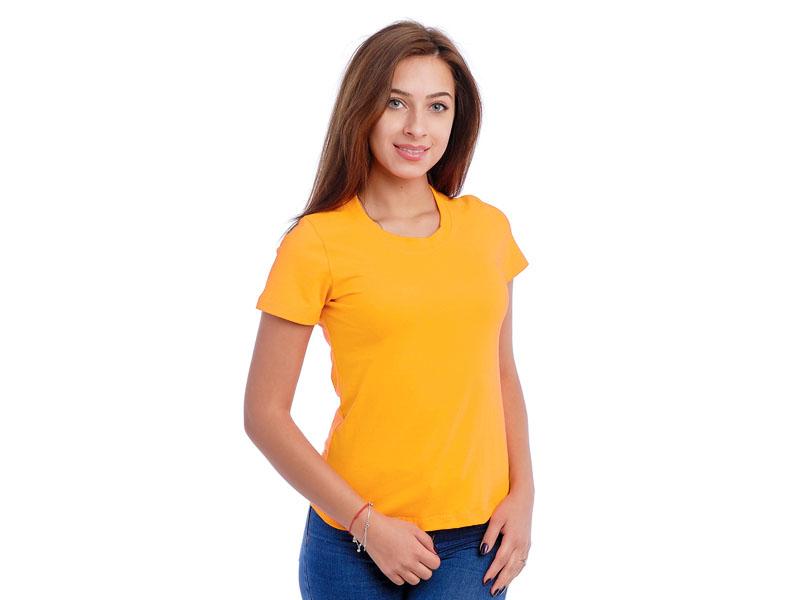 Moteriški marškinėliai  (Geltona spalva)