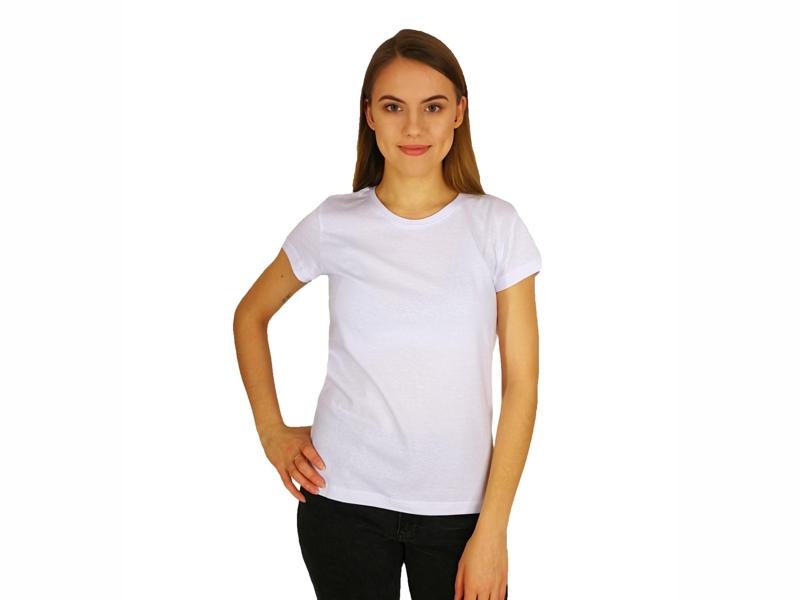 Moteriški marškinėliai  (140g, Balta spalva)